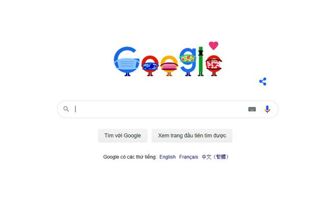 Google cổ vũ mọi người đeo khẩu trang phòng chống COVID-19 - ảnh 3
