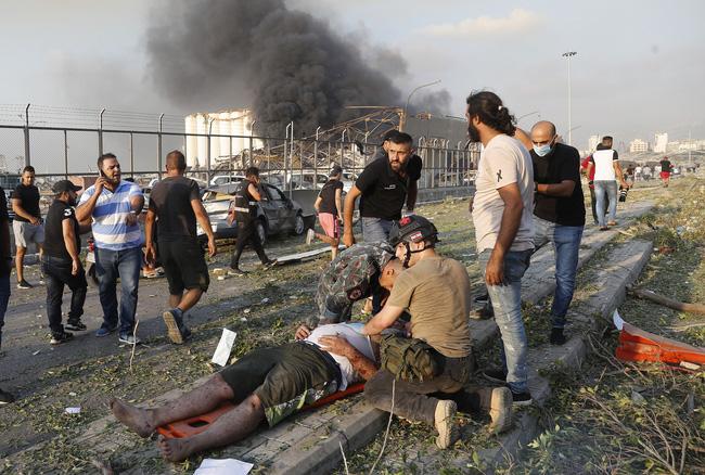 Nổ lớn làm rung chuyển thủ đô Lebanon, 73 người thiệt mạng, hàng nghìn người bị thương - ảnh 7