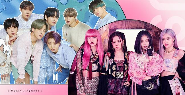 BTS dẫn đầu BXH Billboard mới, BLACKPINK tụt hạng - ảnh 3