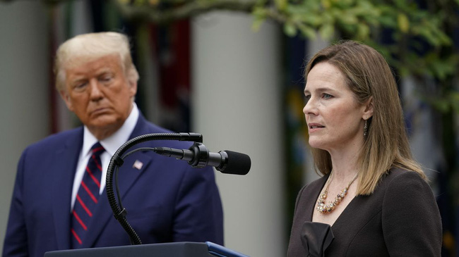 Tổng thống Donald Trump chính thức đề cử Thẩm phán Tòa Tối cao Mỹ - ảnh 2