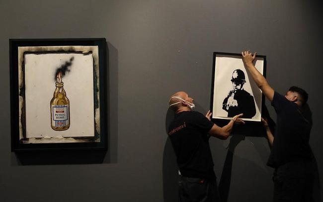 """Kỳ lạ, Italy triển lãm hơn 100 tác phẩm """"vẽ bậy"""" - ảnh 4"""