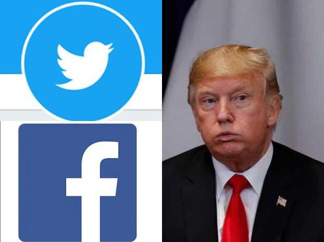 """Facebook, Twitter thiệt hại nặng sau khi """"cấm cửa"""" ông Trump - ảnh 2"""