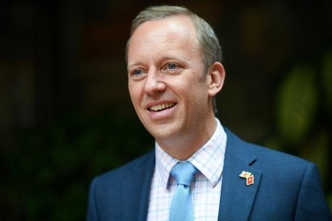 UK Ambassador to Vietnam Gareth Ward. (Photo: UK Embassy)
