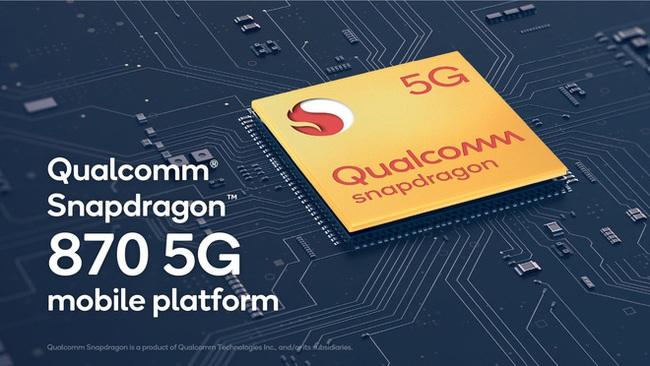 Qualcomm bất ngờ ra mắt chip di động cao cấp Snapdragon 870 5G - ảnh 1