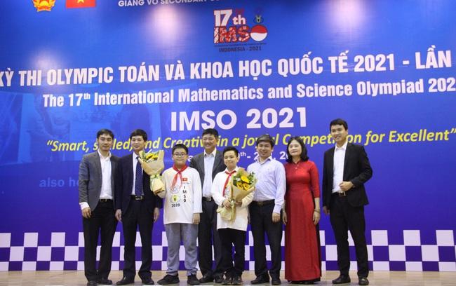 Việt Nam giành 2 HCV Olympic Toán học và Khoa học quốc tế năm 2021 - ảnh 2