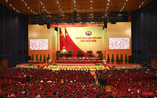 The 13th National Congress of the Communist Party of Vietnam (CPV) officially kicked off in Hanoi on January 26. (Photo: NDO/Duy Linh)