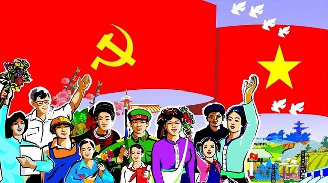 Aspiration to develop a prosperous and happy nation (Photo: tuyengiao.vn)