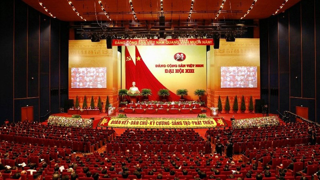 The 13th National Party Congress (Photo: Duy Linh)