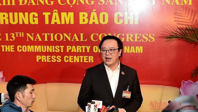 Head of the Party Central Committee's Commission for External Relations Hoang Binh Quan (Photo: Duy Linh)