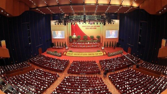 The 13th National Congress of the Communist Party of Vietnam is being held in Hanoi from January 25 to February 2. (Photo: VNA)