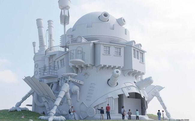 """Công viên Ghibli công bố sẽ xây dựng lâu đài """"Howl's Moving Castle"""" - ảnh 6"""