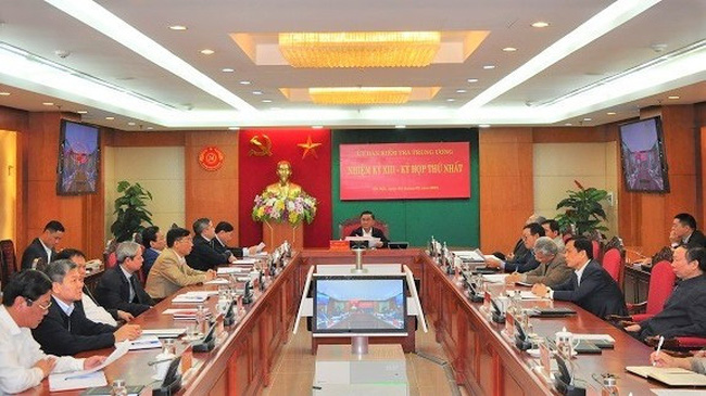 The 13th-tenure Party Central Committee's Inspection Commission has convened its first meeting in Hanoi.