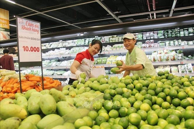 Vietnam's retail sales in January 2021 increase by 8.7% compared to the same period last year. (Photo: VNA)