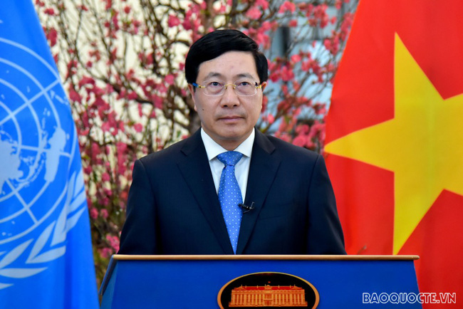Vietnamese Deputy Prime Minister and Minister of Foreign Affairs Pham Binh Minh. (Photo: Tuan Anh)