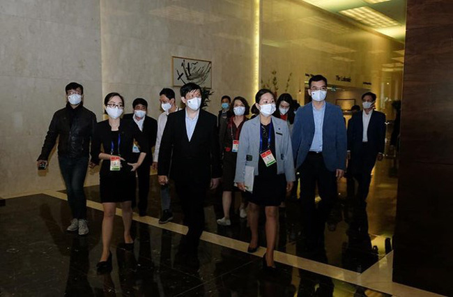 Minister of Health Nguyen Thanh Long inspects medical preparations for the 13th National Party Congress (Photo: VNA)