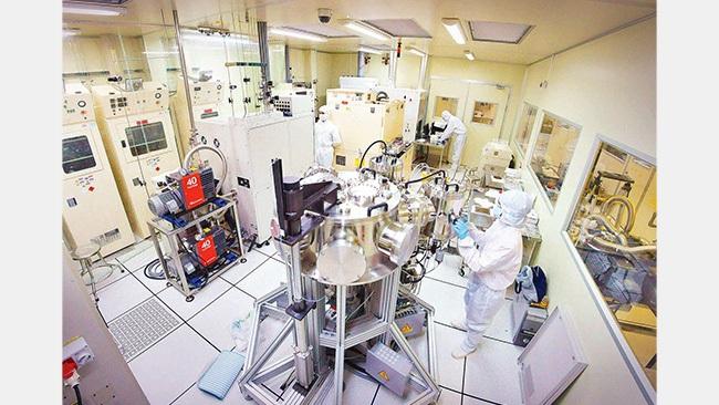 A modern nano lab at the Vietnam National University - Ho Chi Minh City branch. (Photo: NDO)