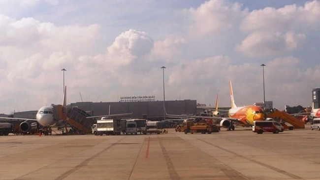 The cargo terminal of Tan Son Nhat International Airport (Photo: VNA)