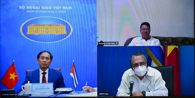 Việt Nam chia sẻ các biện pháp ứng phó COVID-19 với Cuba - ảnh 3