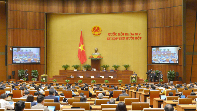 The second working day of the NA's 11th session is broadcast live on national TV and radio