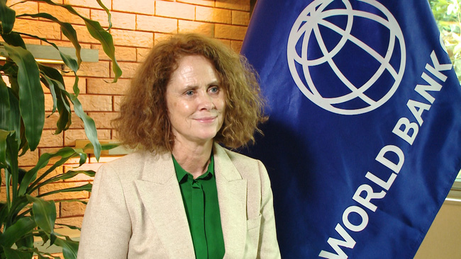 World Bank Country Director for Viet Nam Carolyn Turk