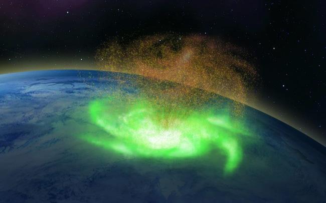 Lần đầu tiên: Bão không gian với mưa electron được quan sát - ảnh 5