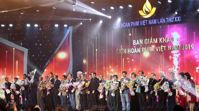Delegates at the 21st Vietnam Film Festival in November 2019. (Photo: VNA)