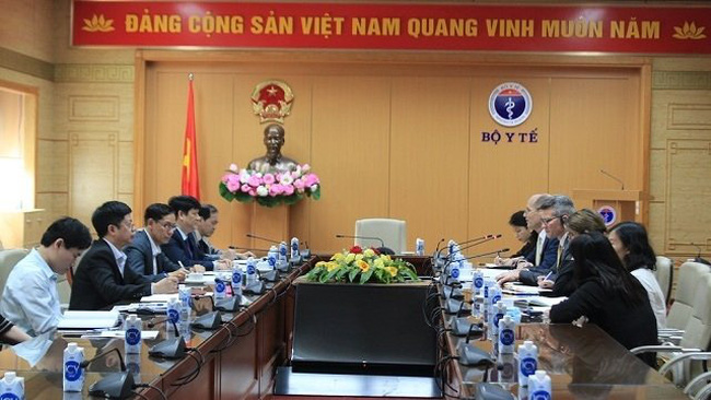 Delegates at the meeting. (Photo: moh.gov.vn)