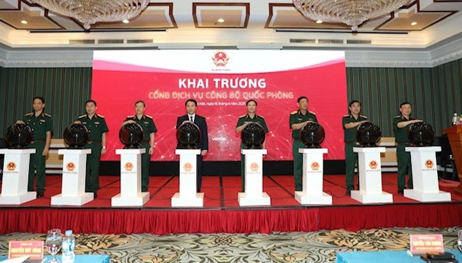 At the launching ceremony (Photo: VGP)