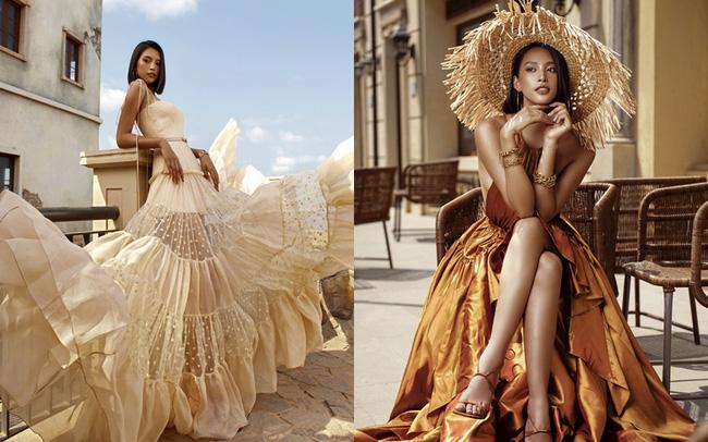 Hoa hậu Tiểu Vy khoe làn da rám nắng quyến rũ - ảnh 16