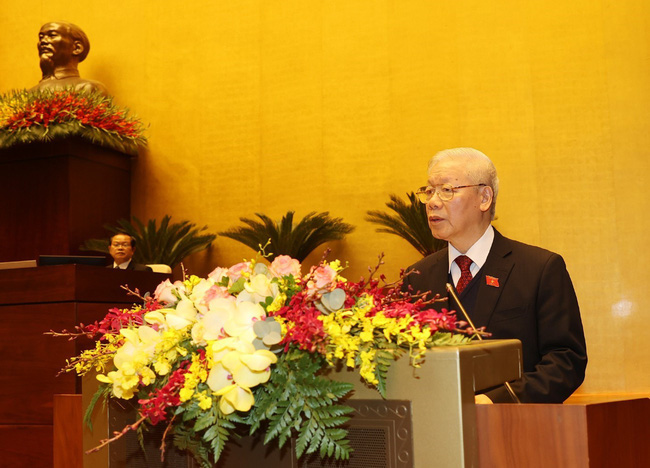 The NA officially adopts the dismissal of Nguyen Phu Trong from presidential post