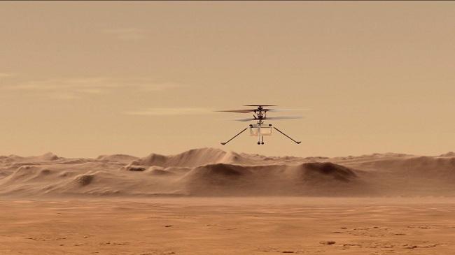Cột mốc lớn mở đường cho chuyến bay gắn động cơ đầu tiên trên Sao Hỏa - ảnh 1