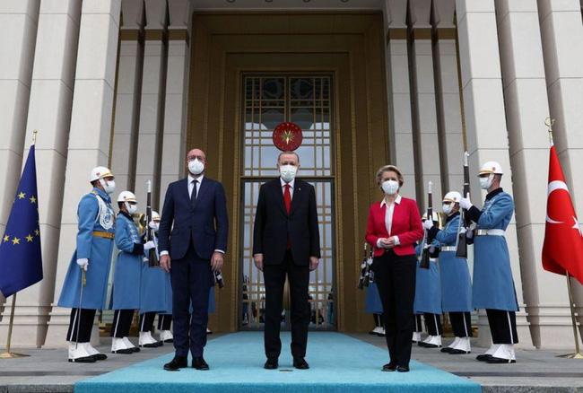 Tình huống khó xử trong cuộc gặp EU - Thổ Nhĩ Kỳ - ảnh 2