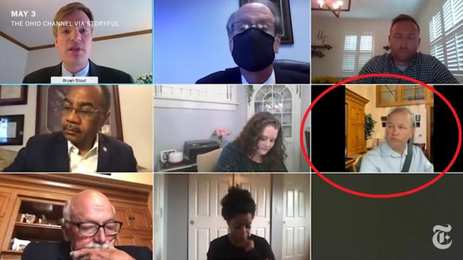 Nghị sĩ Mỹ và sự cố hy hữu khi họp trực tuyến - ảnh 1
