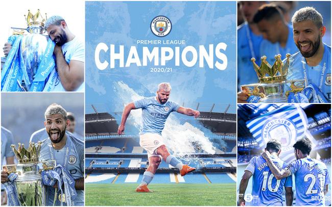 Man City vô địch sớm Ngoại hạng Anh: Aguero xác lập kỷ lục trong lịch sử  nửa xanh thành Manchester | VTV.VN
