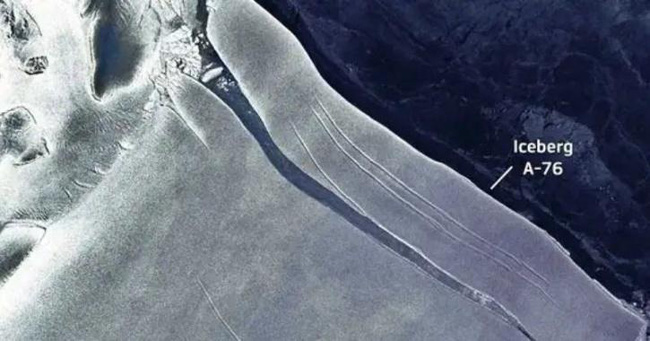 Tảng băng trôi lớn nhất thế giới tách khỏi Nam Cực - ảnh 2