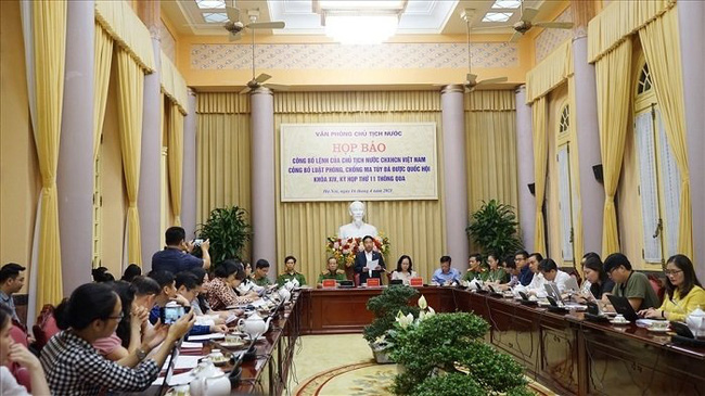 General view of the press conference. (Photo: laodong.vn)