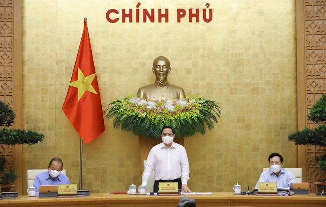 Thủ tướng Phạm Minh Chính chủ trì phiên họp Chính phủ thường kỳ tháng 4/2021 - ảnh 2