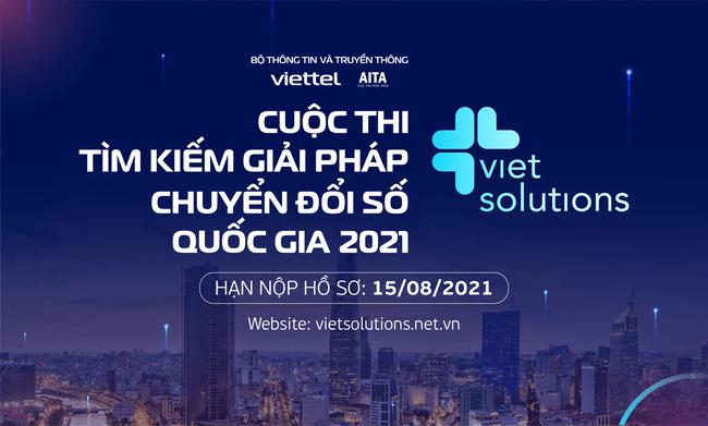 Viet Solutions 2021 - Cuộc thi tìm kiếm giải pháp thúc đẩy chuyển đổi số quốc gia - ảnh 3