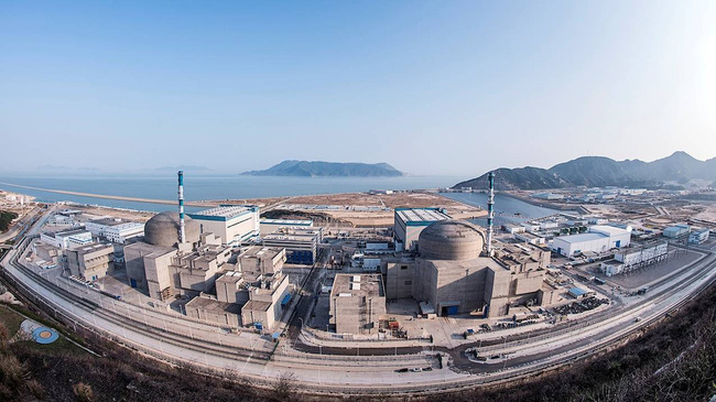 Không có rò rỉ phóng xạ tại nhà máy điện hạt nhân Đài Sơn, Trung Quốc |  VTV.VN