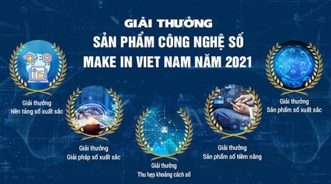 Phát động giải thưởng Sản phẩm công nghệ số Make in Vietnam 2021 - ảnh 1