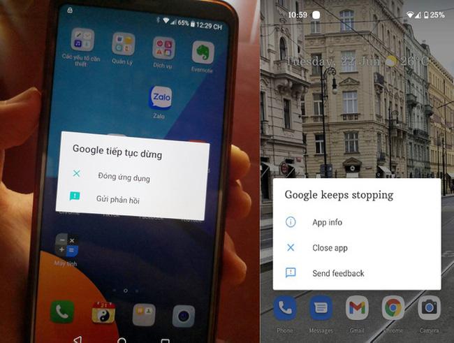 Ứng dụng Google gặp sự cố khiến nhiều người dùng Android gặp lỗi lạ - ảnh 2
