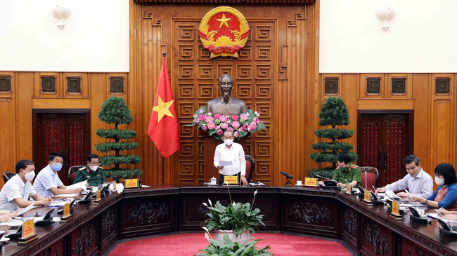Deputy Prime Minister Truong Hoa Binh chairs a meeting of the Central Advisory Council on Amnesty on July 10. (Photo: VNA)