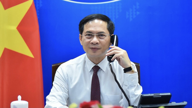 Foreign Minister Bui Thanh Son (Photo: Ministry of Foreign Affairs)