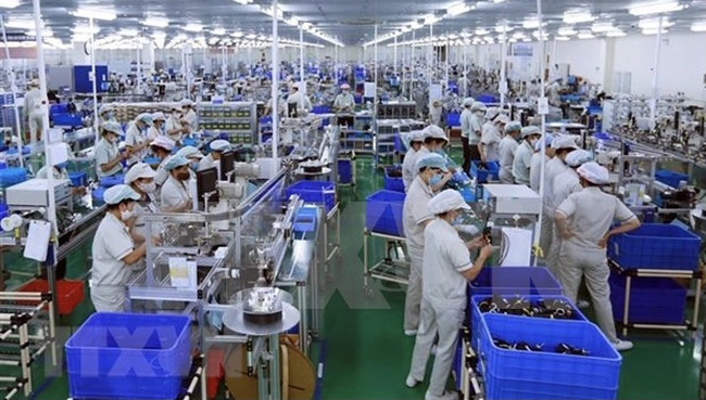 So far, the locality has hosted 52,117 operating enterprises with total capital of nearly VND495.8 trillion (US$21.5 billion). (Photo: VNA)