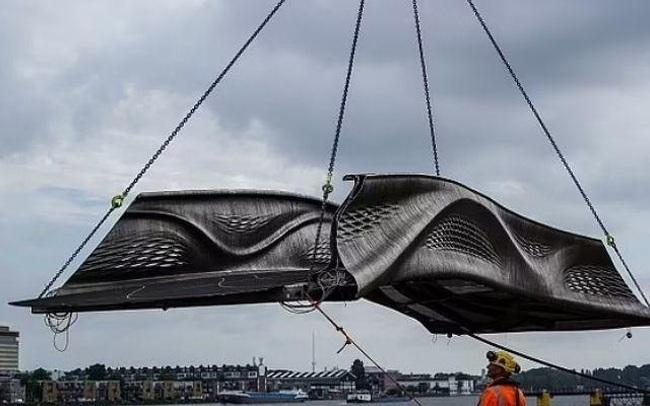 Khánh thành cây cầu xây dựng bằng phương pháp in 3D đầu tiên trên thế giới - ảnh 3