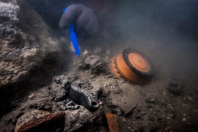 Phát hiện thành phố cổ chìm trong nước ở Ai Cập - ảnh 2