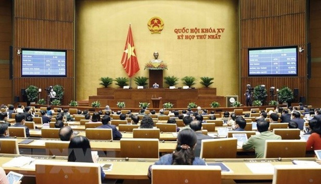 An overview of the 15th National Assembly's first session (Photo: VNA)