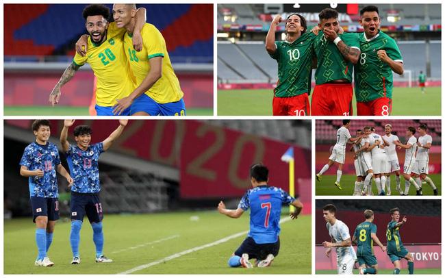 Lịch thi đấu và trực tiếp bóng đá nam Olympic Tokyo 2020 ngày 25/7: Tâm  điểm Brazil – Bờ Biển Ngà   VTV.VN