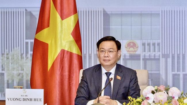 Vietnamese NA Chairman Vuong Dinh Hue. (Photo: VOV)