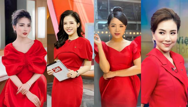 Loạt váy đơn sắc nhưng vẫn nổi bần bật của các nữ MC, BTV - ảnh 73